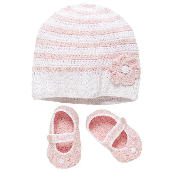 Elegant Baby - Baby Girl Hat and Booties*^