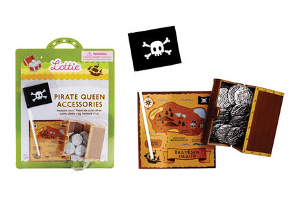 Schylling - Lottie Accessories - Pirate Queen