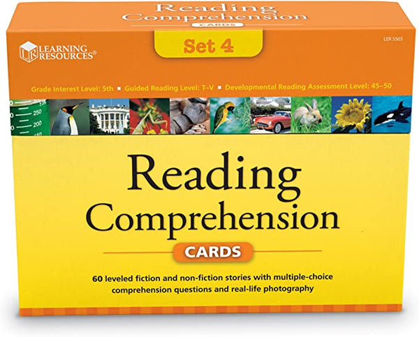 Learning Resources - Reading Comprehension Set 4