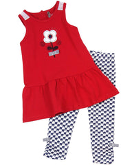 Deux par Deux - Baby Tunic & Leggings Set**