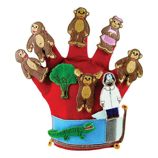 Monkeys On The Bed Glove