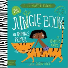 Raincoast - The Jungle Book Animals Primer Book & Playset