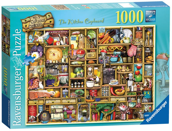 Ravensburger - The Kitchen Cupboard Puzzle*