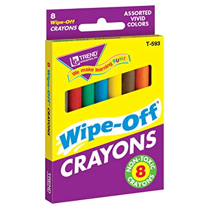 Trend - Wipe OFF Crayons