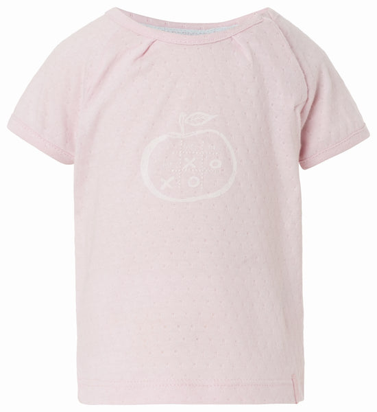 Noppies - Baby Girls Short Sleeve Text Tee 3pc Set**
