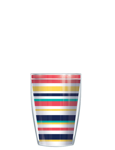 Beach Stripes Classic Colors Tumbler