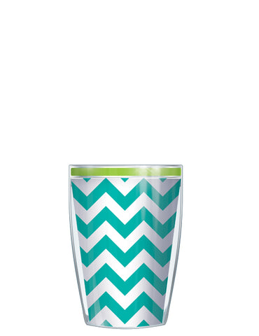 Pop Chevron Teal & Green - Signature Tumblers - Tumblers -  - 2