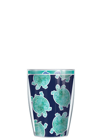 Sea Turtle Navy Tumbler