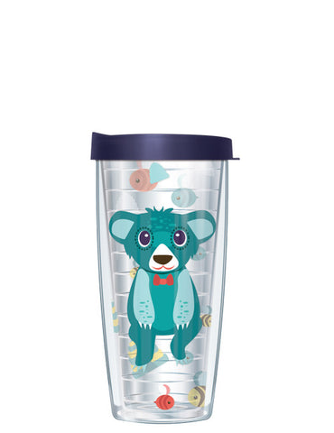 Bernie the Bear Clear Tumbler - Signature Tumblers - Tumbler -  - 2