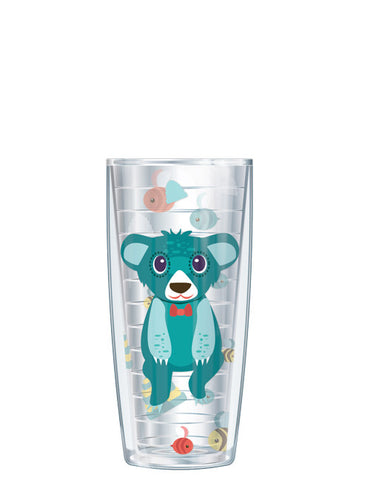 Bernie the Bear Clear Tumbler - Signature Tumblers - Tumbler -  - 1