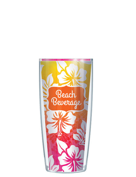 Pink & Orange Beach Beverage Tumbler - Signature Tumblers - Tumbler -  - 1