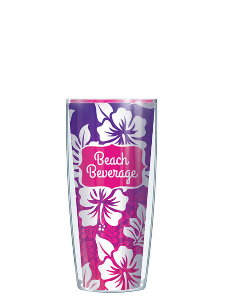Purple & Pink Beach Beverage Tumbler - Signature Tumblers - Tumbler -  - 1
