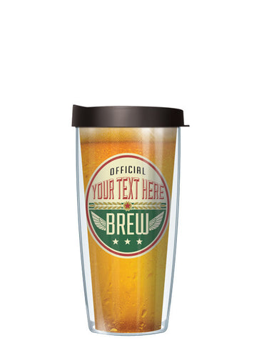 Personalized Text Official Brew Light - Signature Tumblers - Tumbler -  - 2