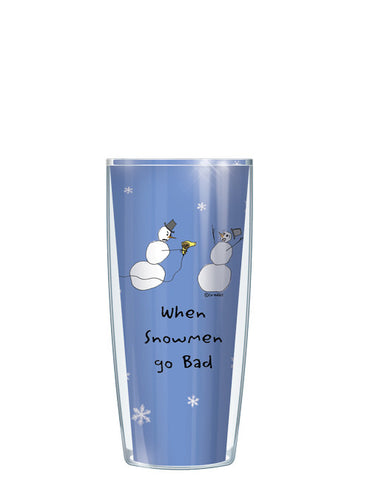 When Snowmen Go Bad Tumbler - Signature Tumblers - Tumbler -  - 1
