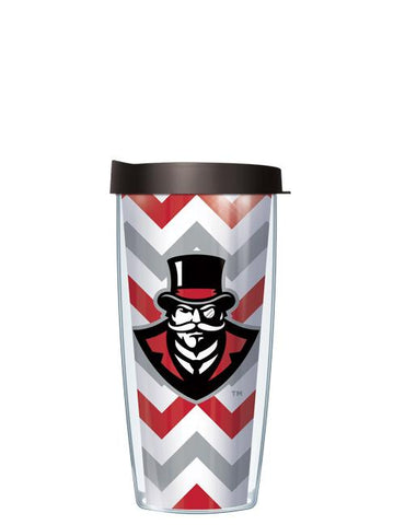Austin Peay State University - Chevron Pattern