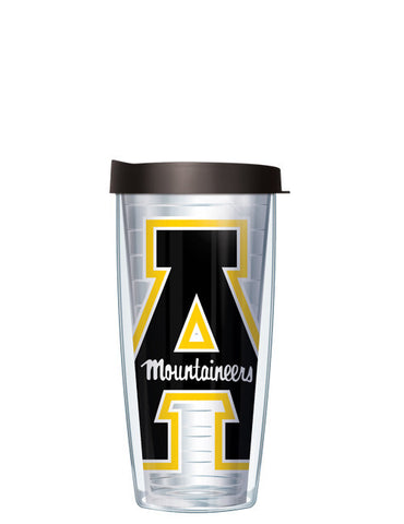 Appalachian State - Large Logo on Clear Pattern