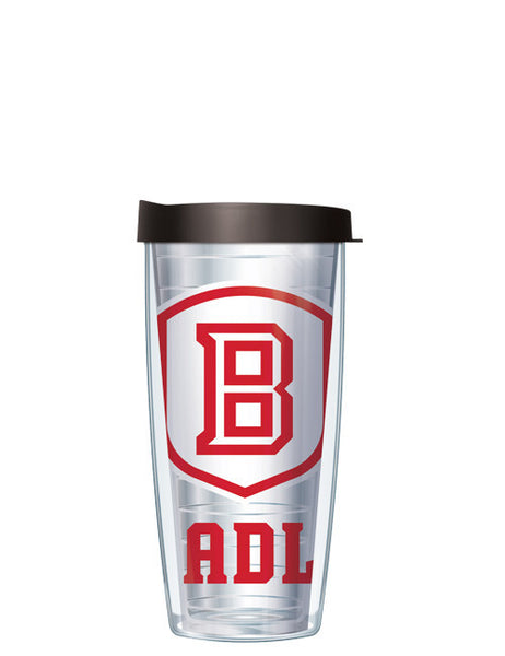 Bradley University - Large Logo on Clear Pattern