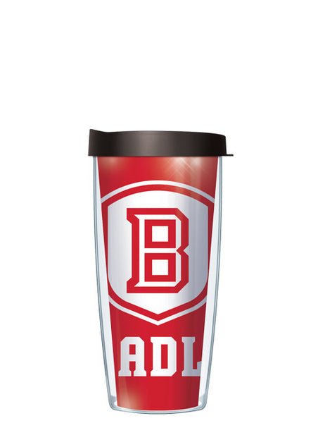 Bradley University - Large Logo Repeat Pattern Inside Pattern