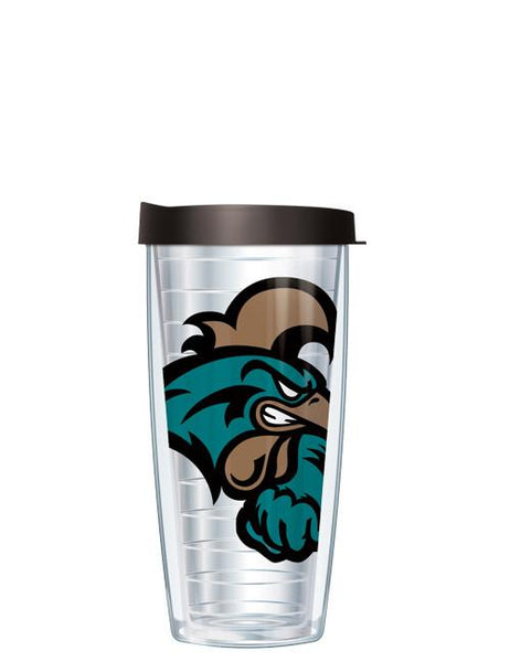 Coastal Carolina University - Large Logo on Clear Pattern