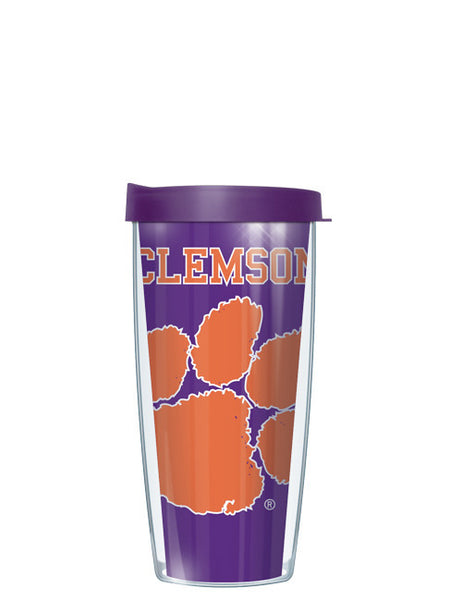 Clemson University - Large Logo Repeat Pattern Inside Pattern