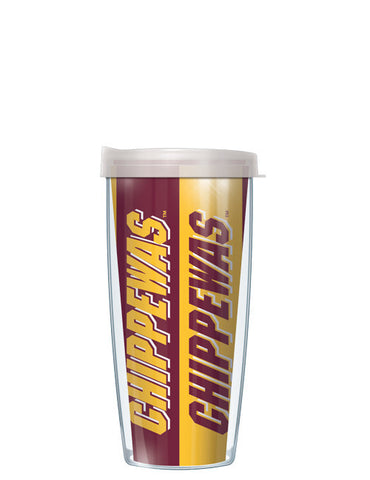 Central Michigan University - Vertical Stripes Pattern