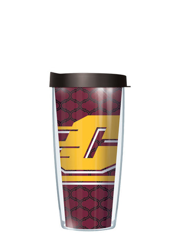 Central Michigan University - Mom on Dots Pattern