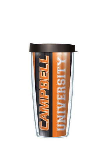 Campbell University - Vertical Stripes Pattern