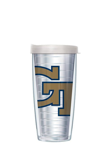 Georgia Tech - Large Logo on Clear Pattern