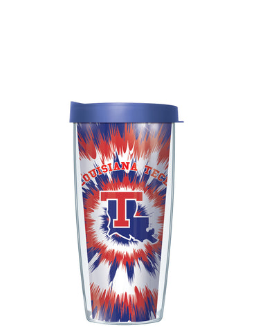 Louisiana Tech University - Tie Dye Pattern