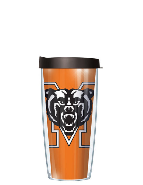 Mercer University - Large Logo Repeat Pattern Inside Pattern