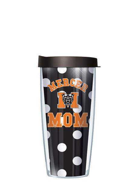 Mercer University - Mom on Dots Pattern
