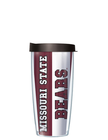 Missouri State University - Vertical Stripes Pattern