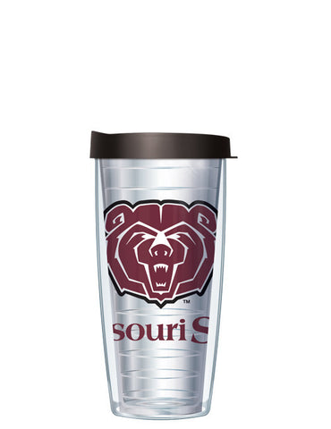 Missouri State University - Large Logo on Clear Pattern