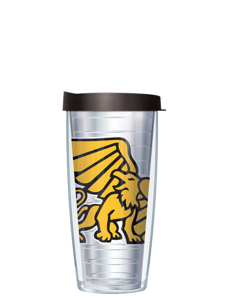 Missouri Western State University - Large Logo on Clear Pattern