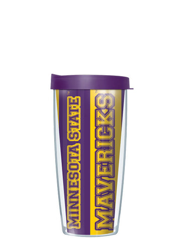 Minnesota State University, Mankato - Vertical Stripes Pattern
