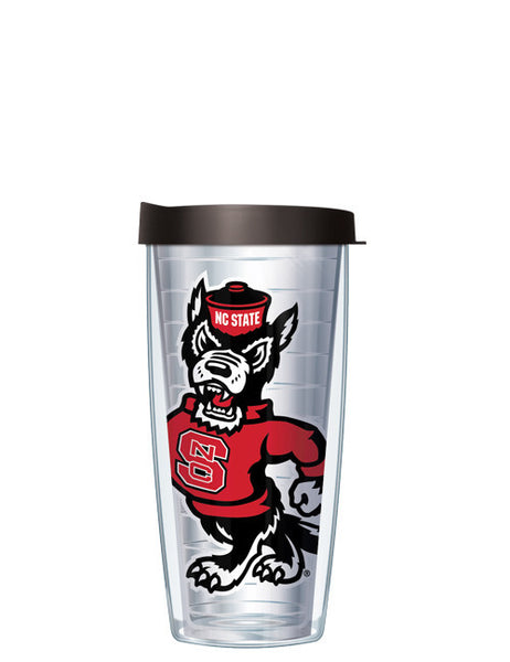 North Carolina State University - Large Logo on Clear Pattern