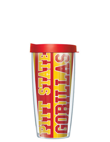Pittsburg State University - Vertical Stripes Pattern