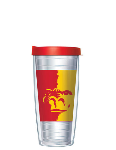 Pittsburg State University - Large Logo on Clear Pattern