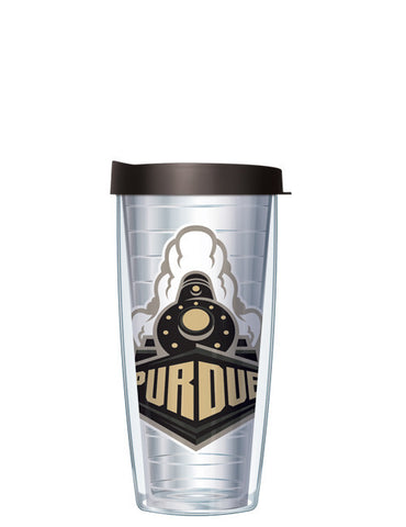 Purdue University - Large Logo on Clear Pattern
