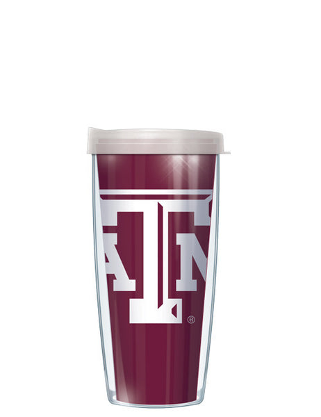 Texas A&M - Large Logo with Clear Lid