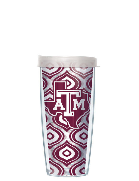 Texas A&M - Clear Color Drops with Clear Lid