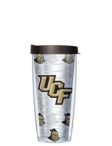University of Central Florida - Repeat Logo on Clear Pattern