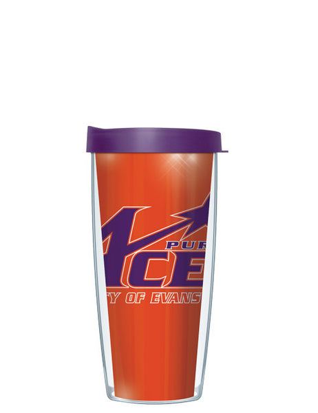 University of Evansville - Large Logo Repeat Pattern Inside Pattern