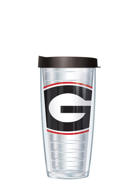 University of Georgia - Large Logo on Clear Pattern