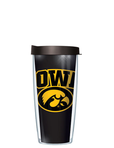 University of Iowa - Large Logo Repeat Pattern Inside Pattern