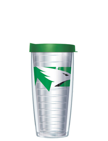 University of North Dakota - Large Logo on Clear Pattern