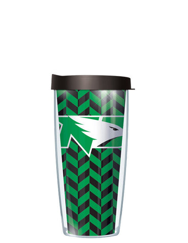 University of North Dakota - Herringbone Pattern