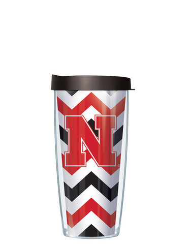University of Nebraska - Chevron with Red Lid