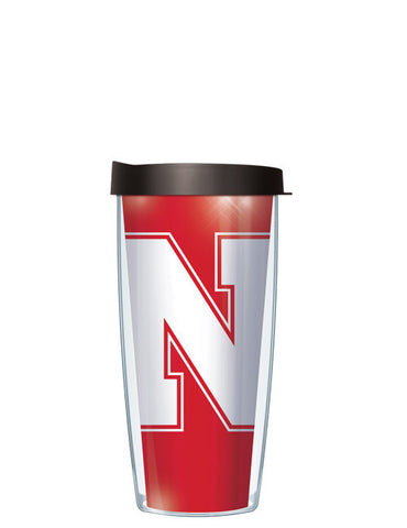 University of Nebraska - Large Logo Repeat Pattern Inside Pattern
