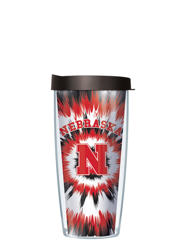 University of Nebraska - Tie Dye Pattern